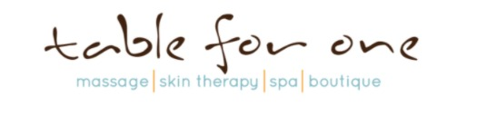 Table for One | massage | skin therapy | spa | boutique | Cedar Rapids Iowa